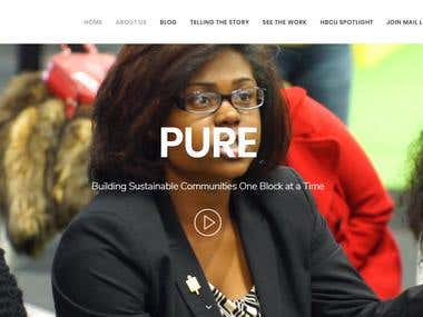 Pure | Wordpress