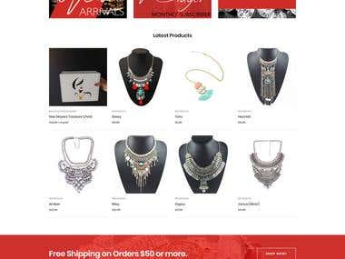 Renee Alexander Jewelry | Woocommerce