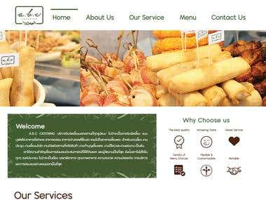 Food Service Website