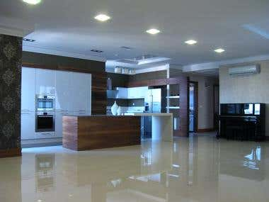 Interior construction projects sample works