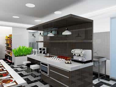 Commercial Kitchen Design 01