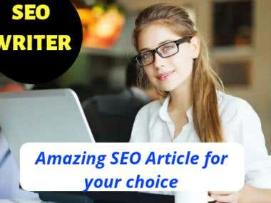 I Will Be Your Blog Content Writer, Content Rewriter