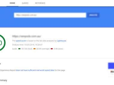 Optimization as per new google page insights rule