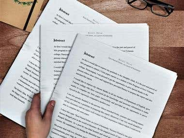 Term Paper, Assignment