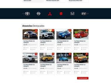 Portal de clasificados de Vehículos