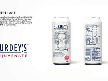 Beverage packaging design