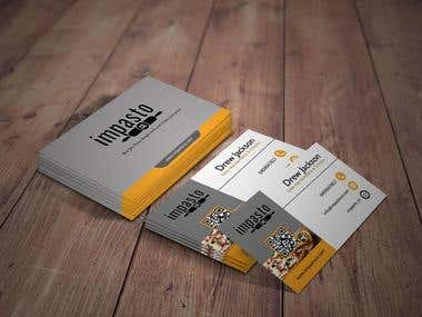 Designed Business Card