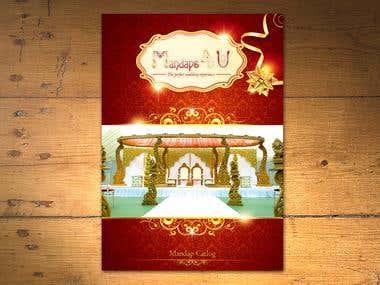 Brochure Design For Mandaps 4 U