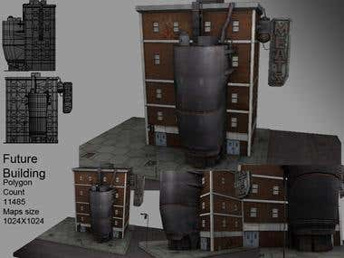 Distopian Future Building