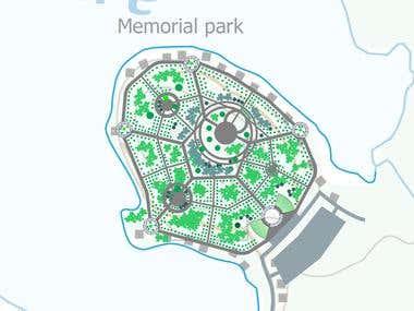 Memorial Park Plan