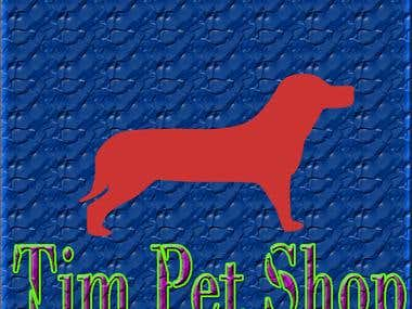 PET SHOP LOGO IN PHOTOSHOP