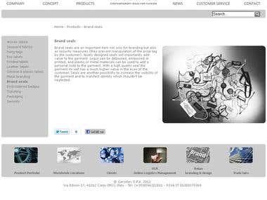www.varcotex.it - Varcotex Website