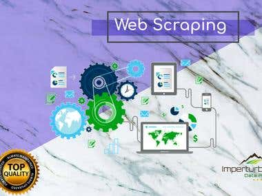 Web scraping of advanced directory listing