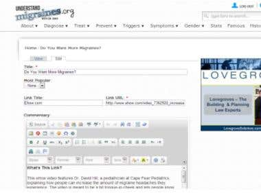 Data Entry Assistant using Drupal CMS