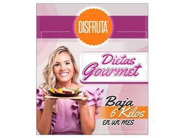 Poster de comida dietaria