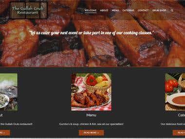 Gullah Grub Website