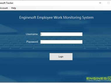 Enginesoft Employee Tracker