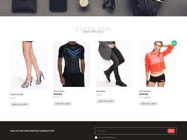 Woocmmerce & Ecommerce Website