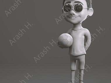 character modeling in zbrush