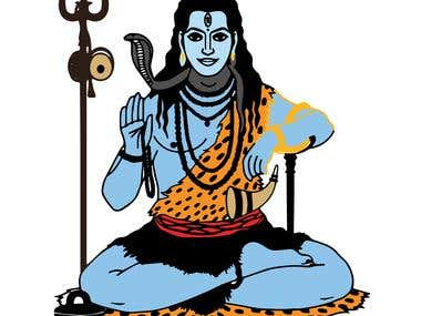 Lord Shiva Portrait