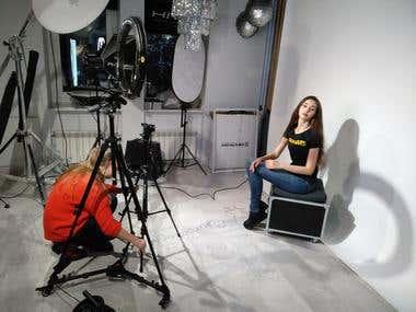 Photo shooting & Kate