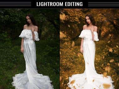 Lightroom editing .. Color change