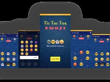 Tic Tac Toe Game With Emoji