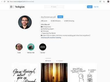 13.5K Instagram Subscriber Count