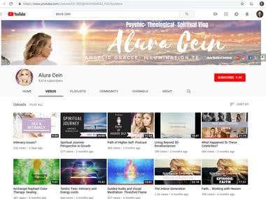 4,000+ YouTube followers for Alura Cein