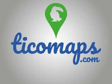 Logo para Ticomaps.com