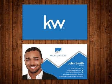 Professional Business Card needed