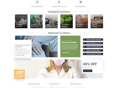 Pharmacy + Online store