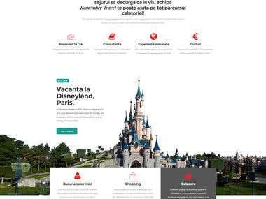 RememberTravel   Agency Website