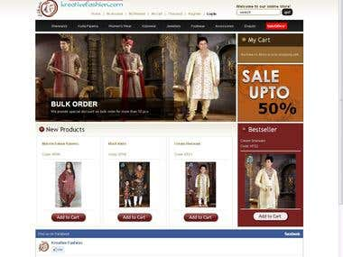 Ecommerce for Fashion Company