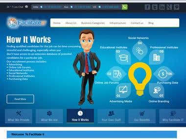 Remote Staffing Company Corporate Web