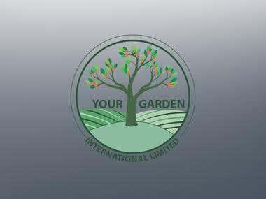 Logo for a fruit garden