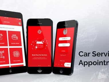 Car Service Booking App