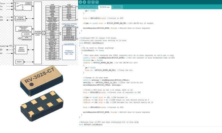 RTC Arduino Library | Freelancer