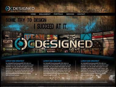 Design for web design studio.