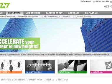 Design for Job Consultancy company