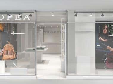 Women Accessories Store Design