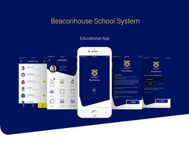 Beaconhouse Group Educational Mobile App Design