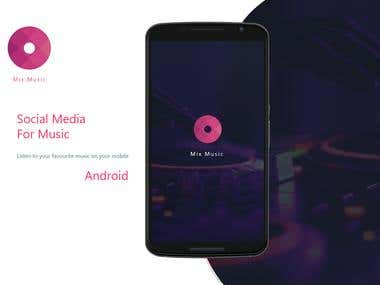 Social Media For Music-Android