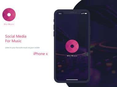 Social Media For Music-iOS