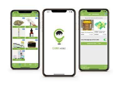 CannaMobile - Cannabis shopping app