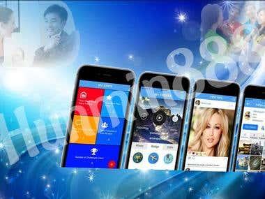 Social WebSite & Mobile App using React