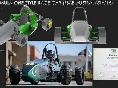 FORMULA STYLE-RACE CAR DEVELOPMENT