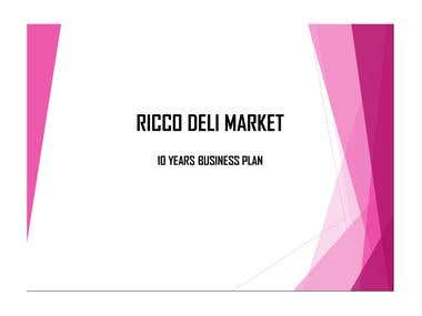 DELI MARKET 10 Year BUSINESS PLAN