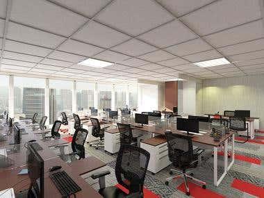 office interior design BNI