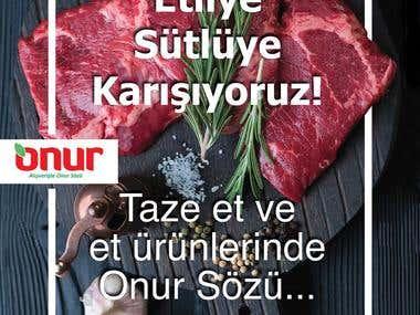 Onur Market Advertising Campaigns